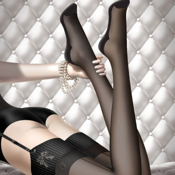 CHANTAL THOMASS'Hosiery Bas-up Couture'Stay-ups