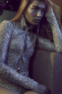 SONATA Rapalyte 'Olive Jade' Long Sleeved Bodysuit (Thong)